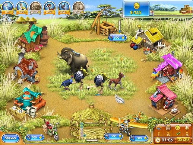 Играть онлайн овощная ферма